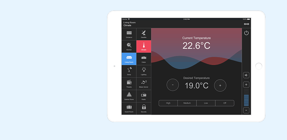 Home Automation IPad