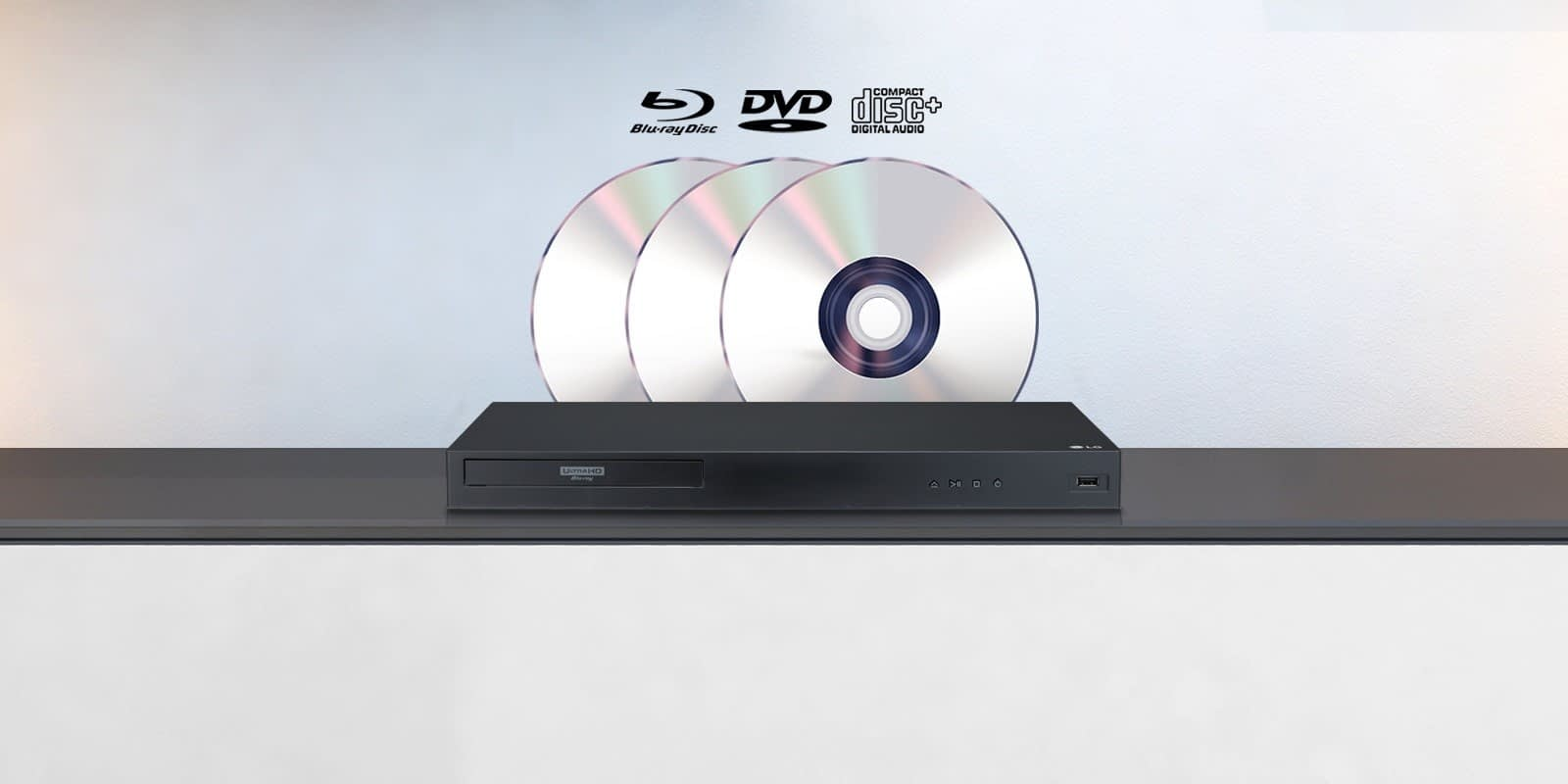 UBK90 Blu-ray DVD, CD_Playback